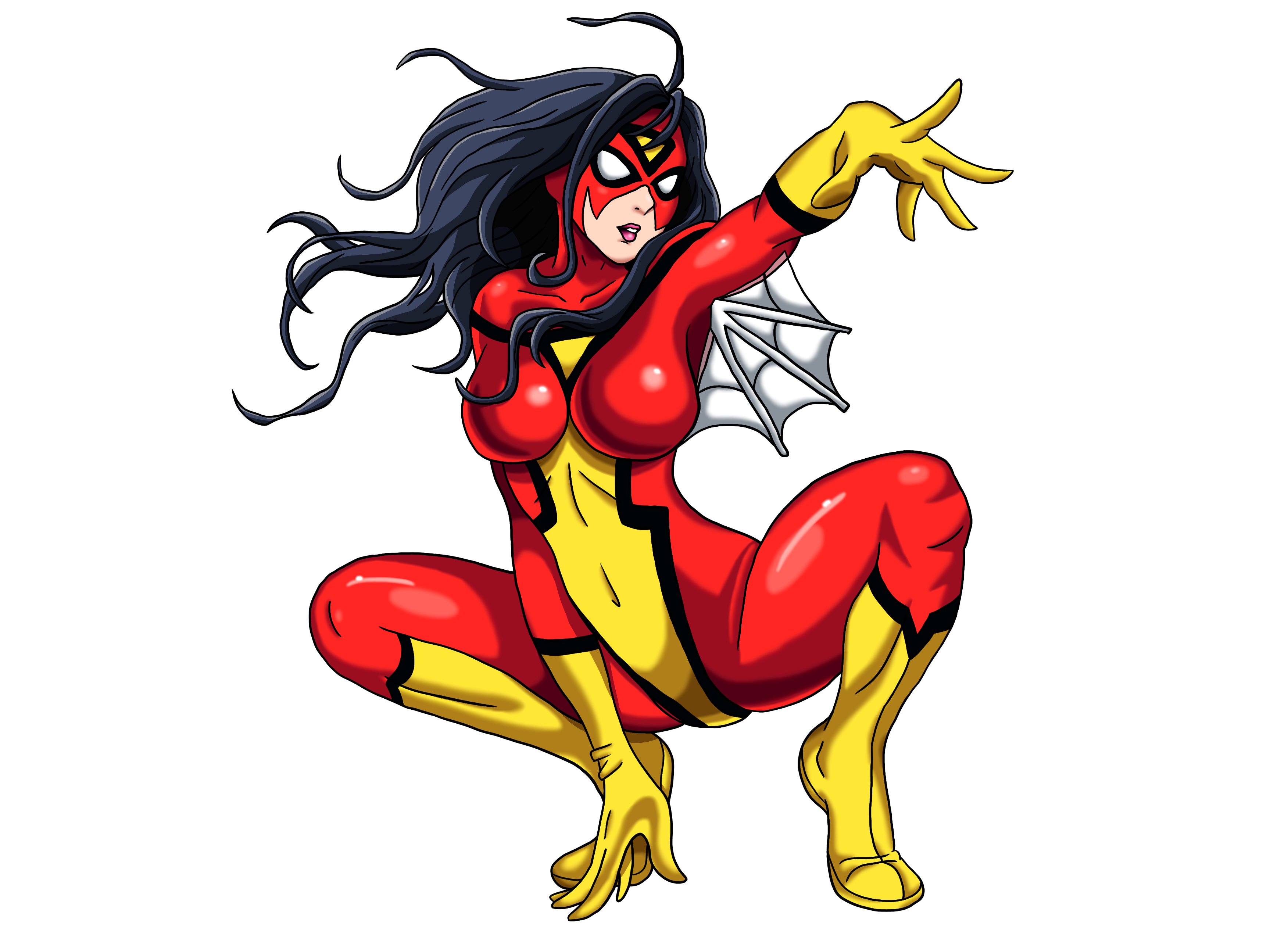 Spider woman png. Transparent images pluspng background