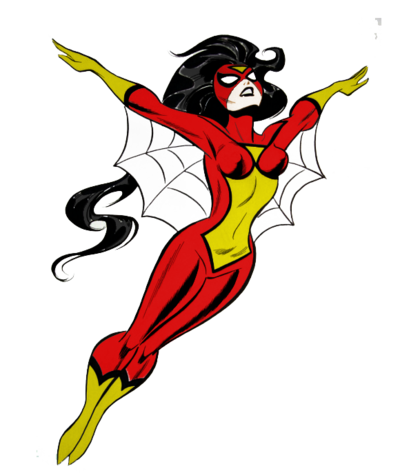 Spider woman png. Download free pic dlpng