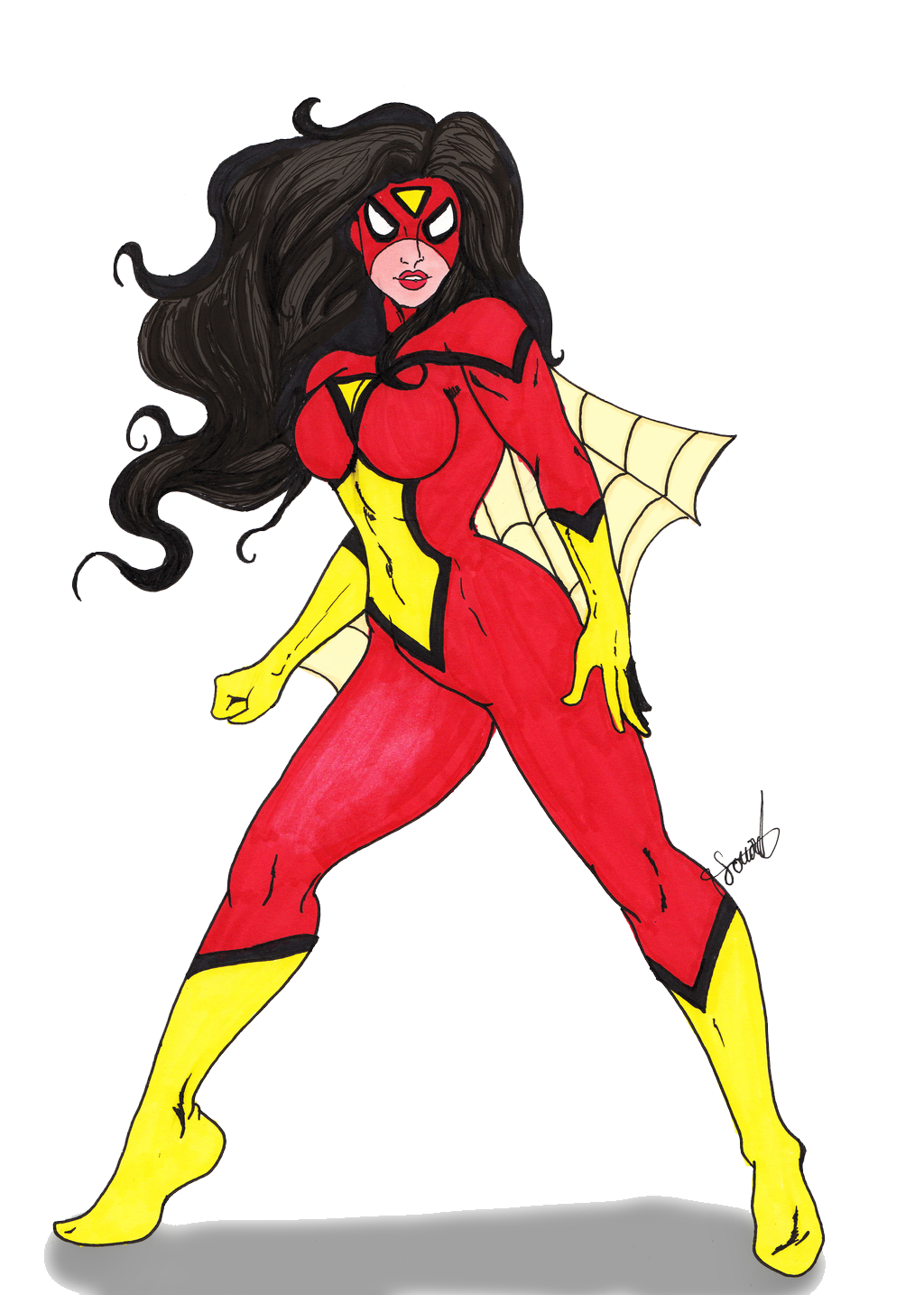 Spider woman png. Hd mart