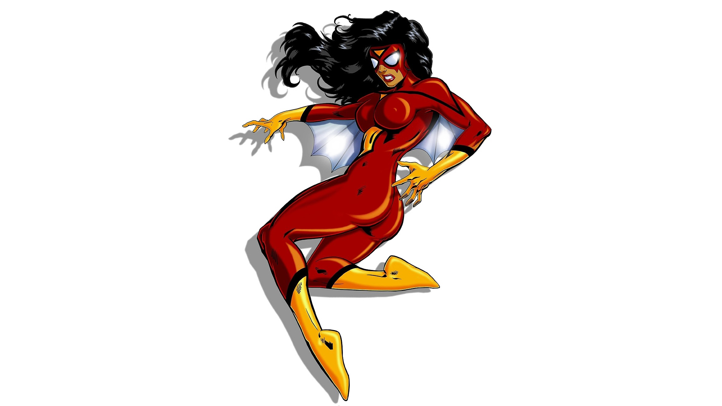 Spider woman png. Transparent image arts spiderwoman