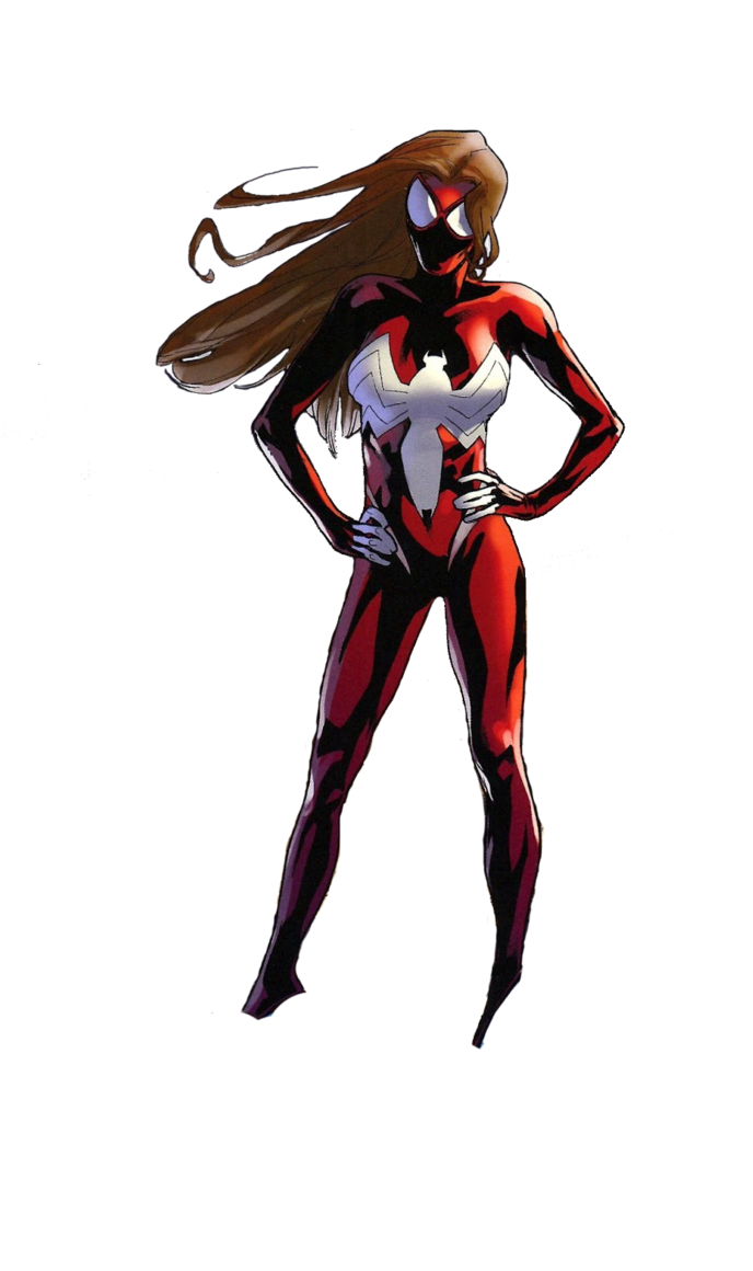 Spider woman png. Ultimate man by spiderman