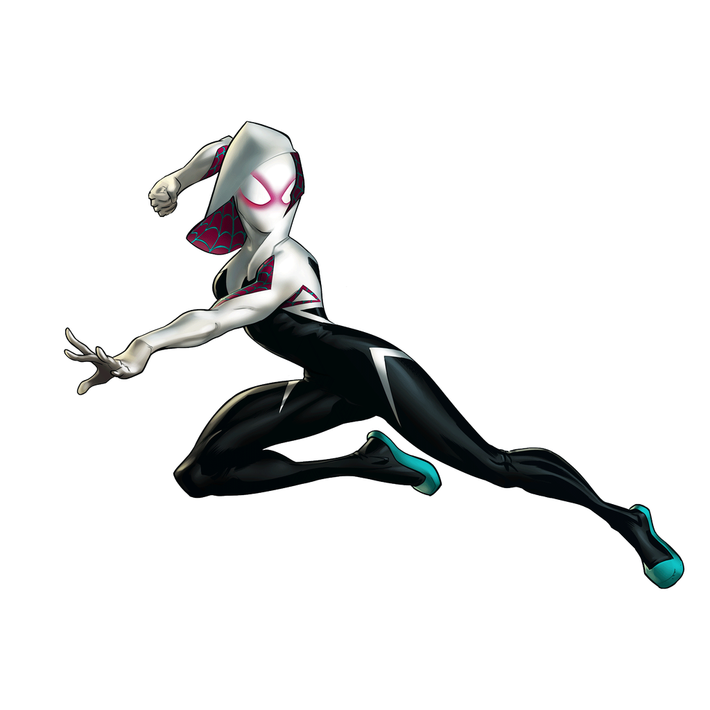 spider-gwen png all new different