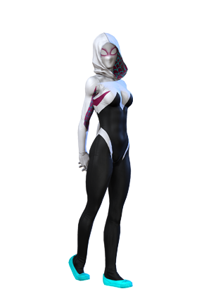 Spider-gwen png spider costume. Gwendolyne stacy earth trn