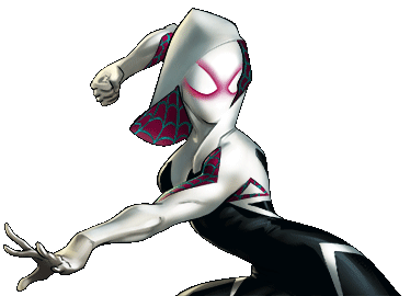 Image spider dialogue marvel. Spider-gwen png gwen black and white image library