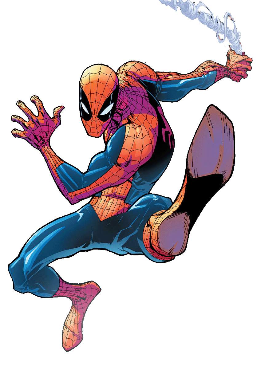 Transparent comic spiderman. Download picture hq png