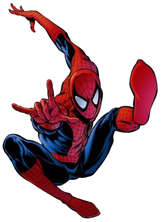 Transparent comic spiderman. Download spider man free