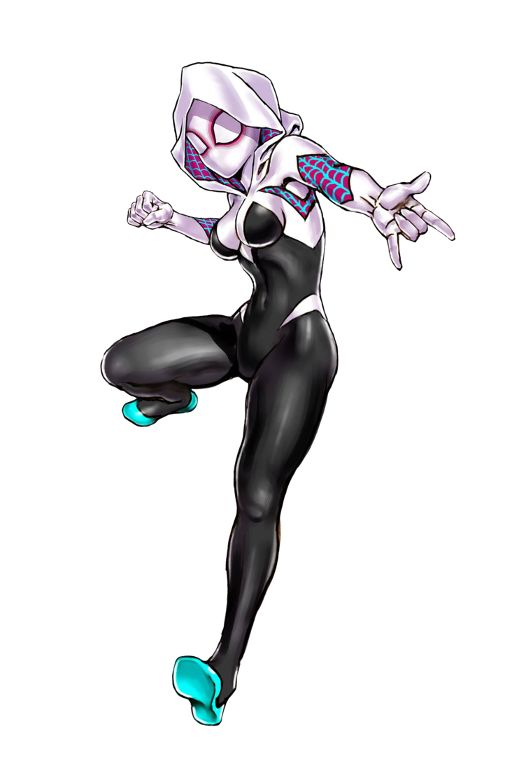 Render by bloomsama on. Spider gwen png clip art royalty free library