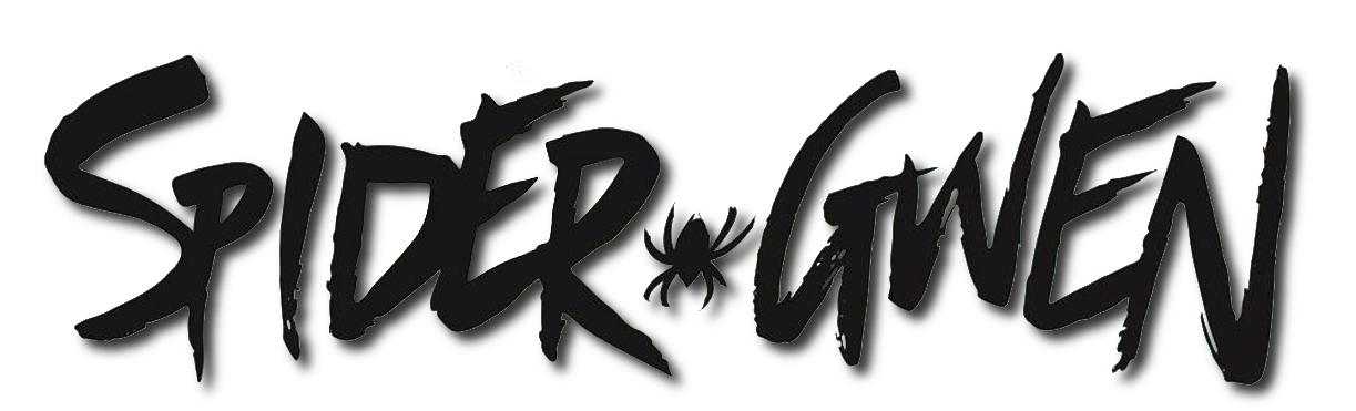 Image spider logo comics. Spider-gwen png gwen black and white clip art black and white