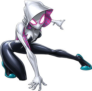 Image transparent man wiki. Spider gwen png banner black and white library