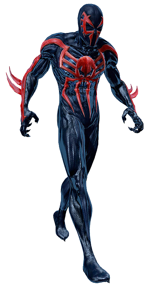 Spiderman 2099 png. Spider man fighters of