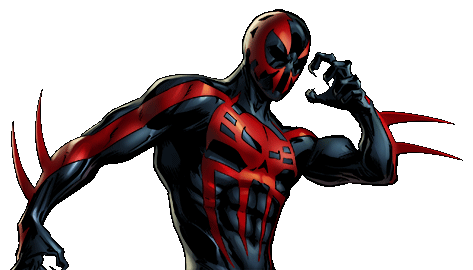 Spiderman 2099 png. Image spider man dialogue