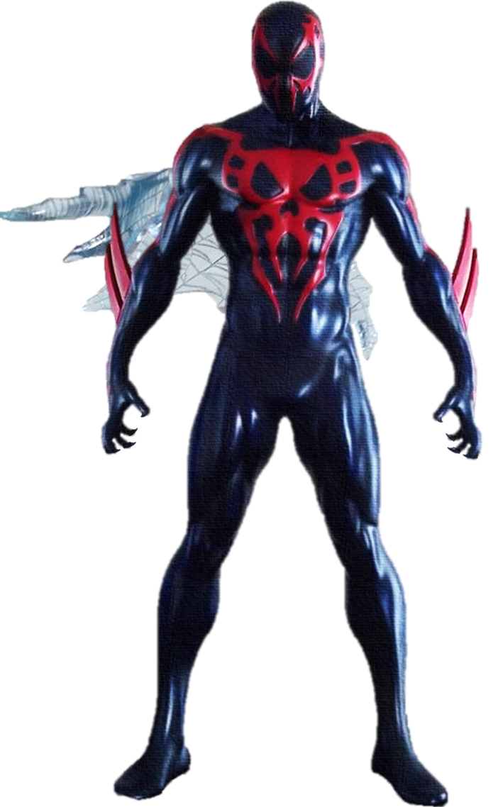 Spiderman 2099 png. By gasa on deviantart