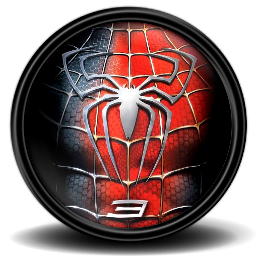 Spiderman 3 png. Icon mega games pack
