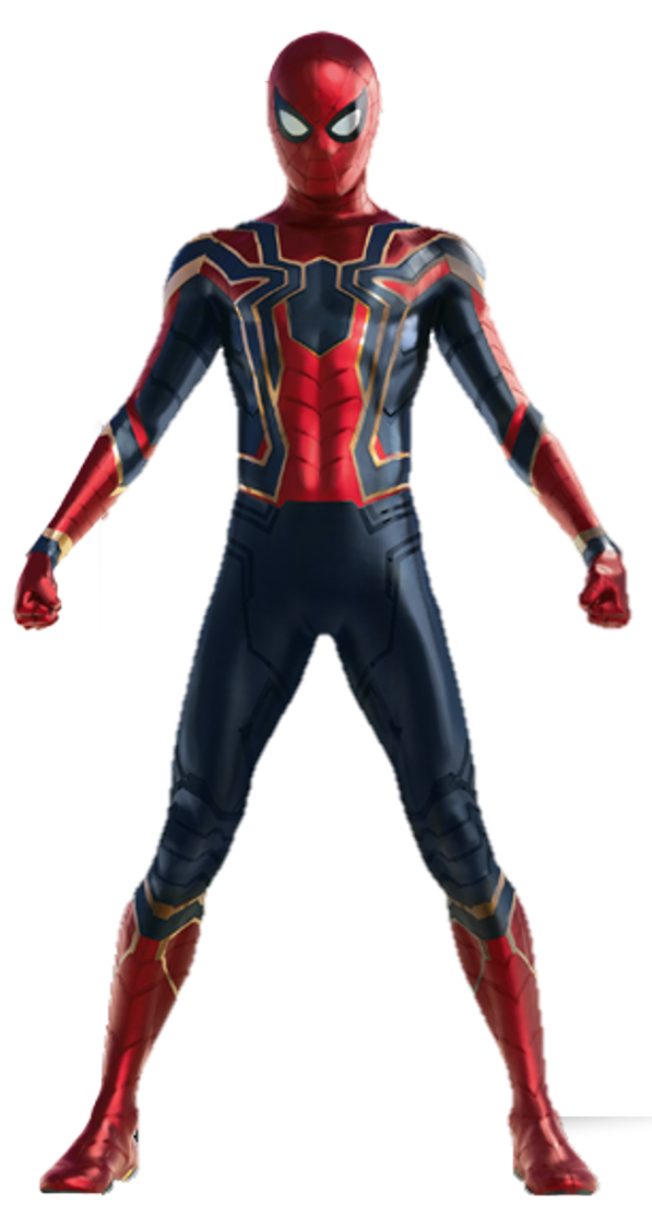 Spider man 3 png. Infinity war by captain