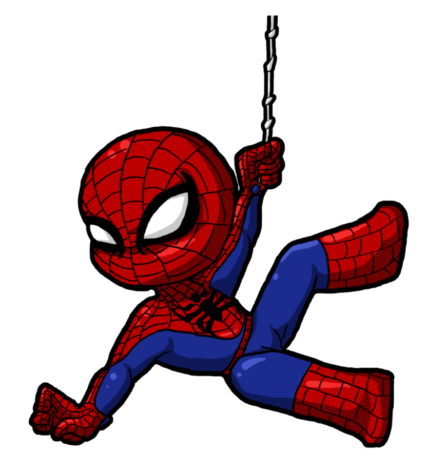 Spiderman cartoon png. Clipart cute for kids