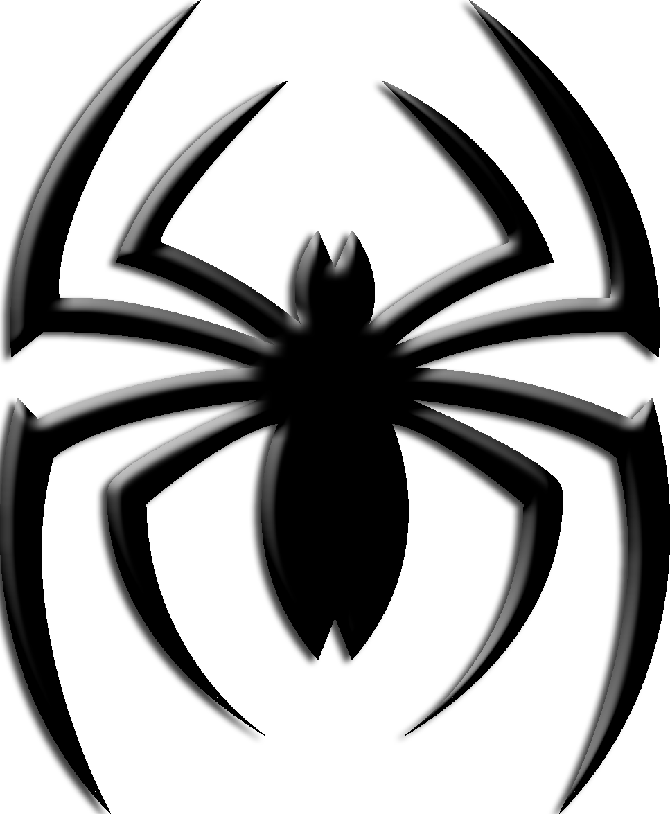Spiderman chest logo png. What should the for