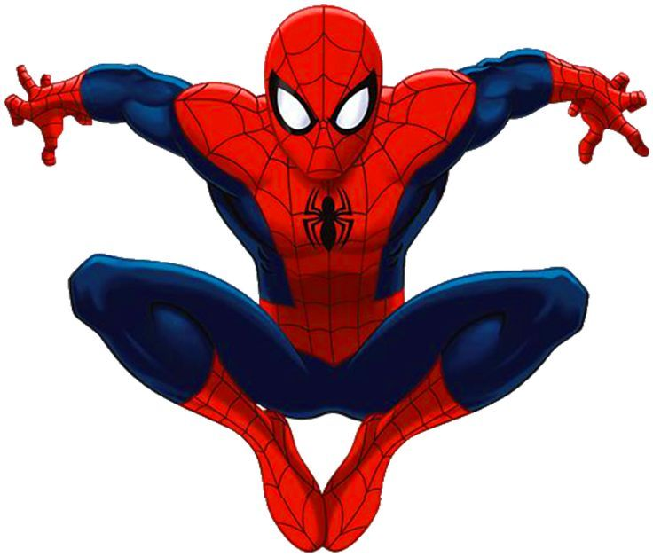 Spiderman clipart. Black at getdrawings com