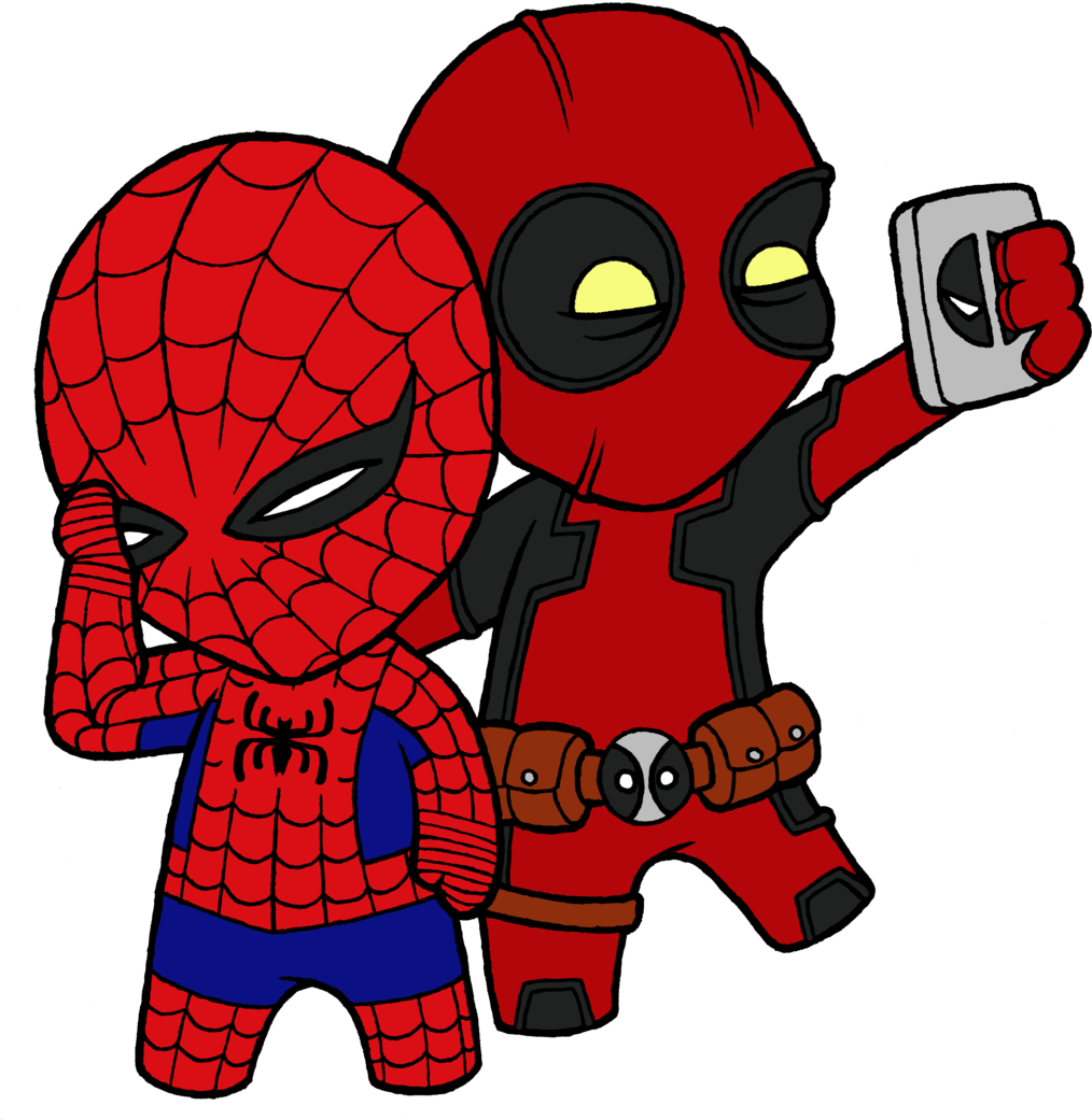 Spiderman Clipart Deadpool Picture 1701835 Spiderman Clipart