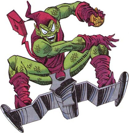 Spiderman clipart green goblin. In the amazing spider