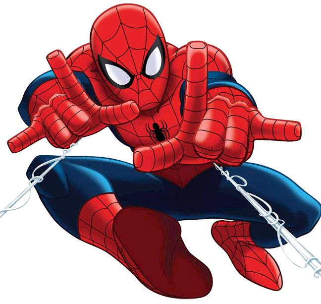 Spiderman clipart spiderman building. Quality cartoon characters images