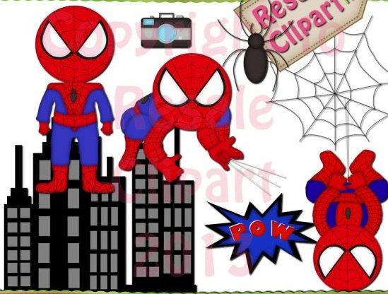 spiderman clipart spiderman building