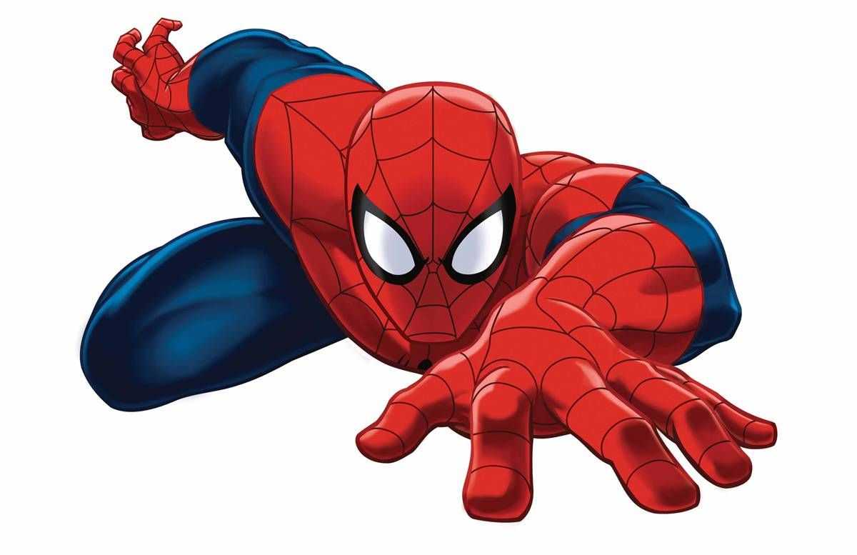 Spiderman clipart ultimate spiderman. Marvel universe spider man