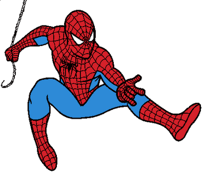 Spiderman clipart. Free panda images clip