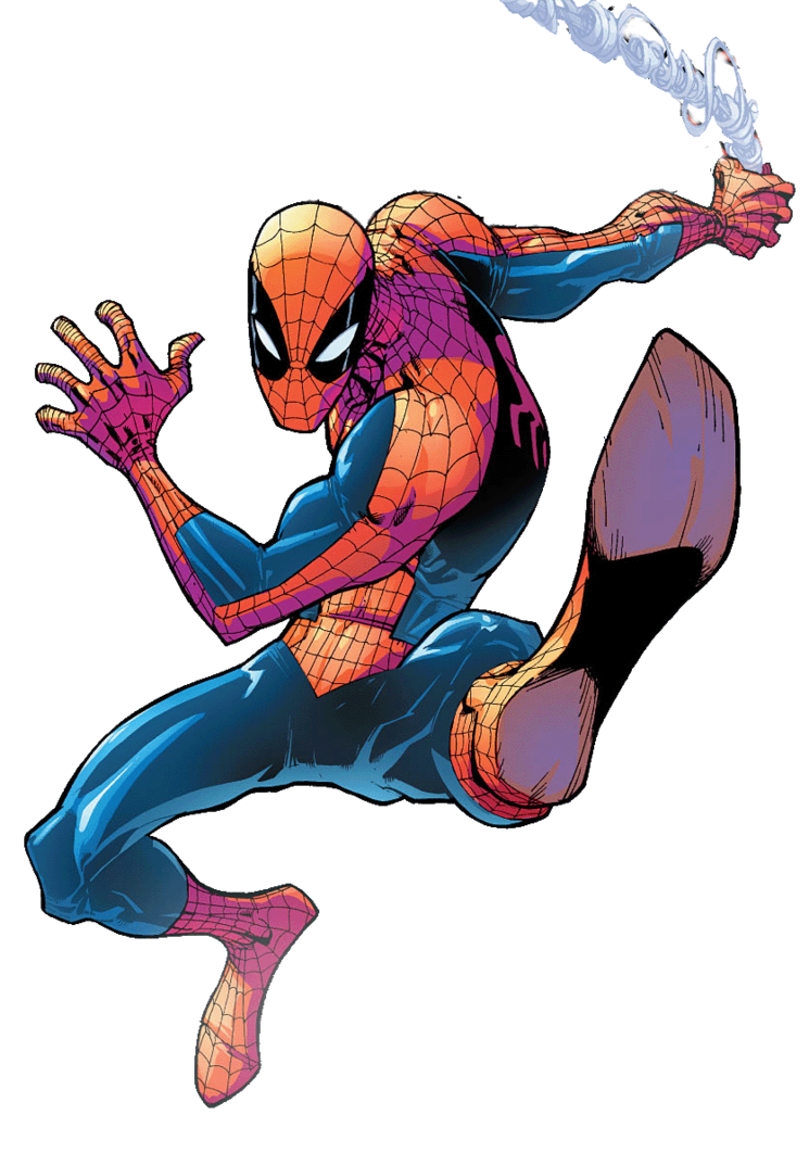 Spiderman comic png. The amazing spider man
