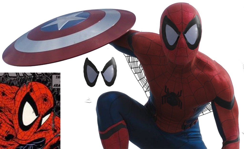 Spiderman eyes png. The official spider man