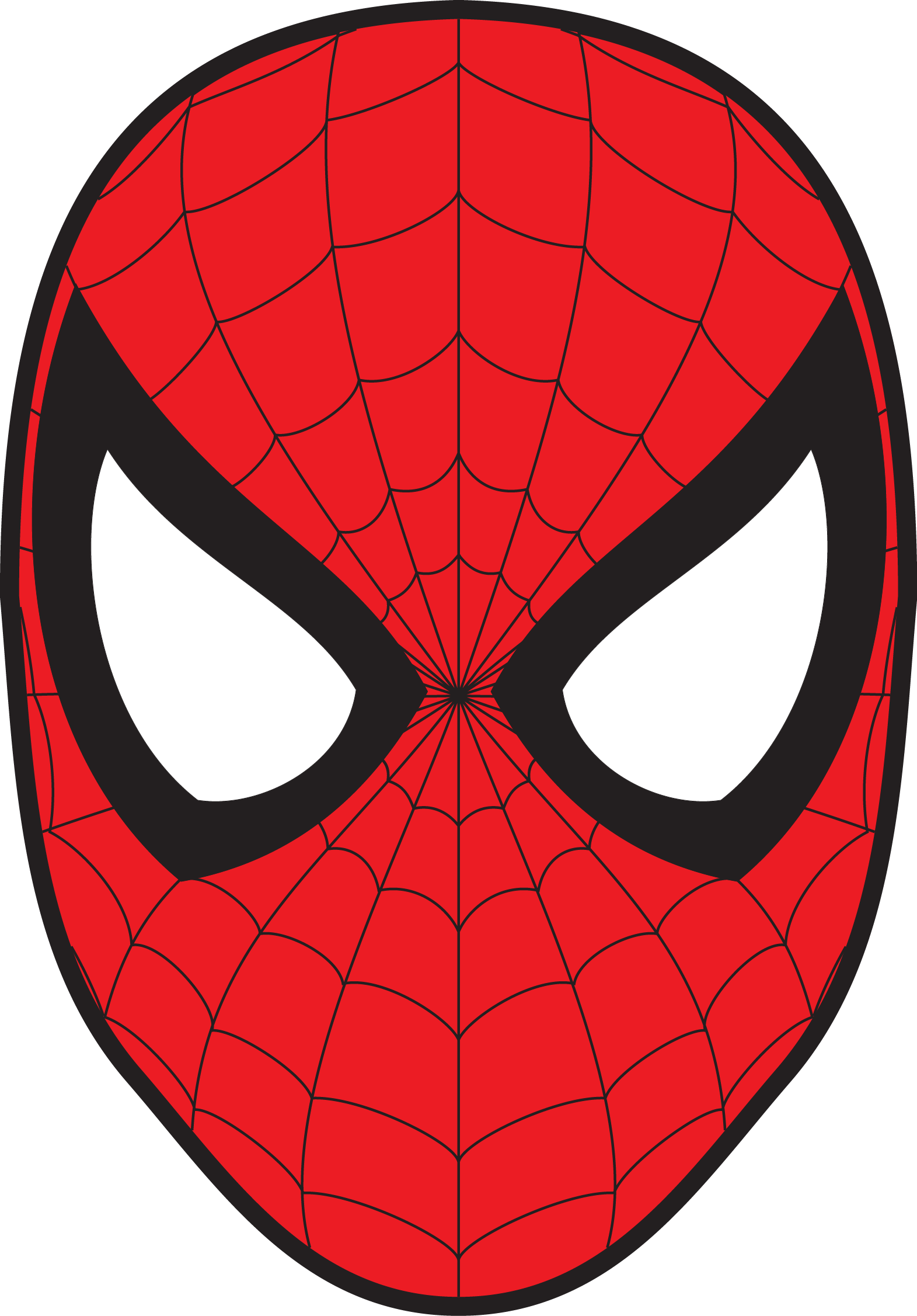 Spiderman face png. Spider man images free