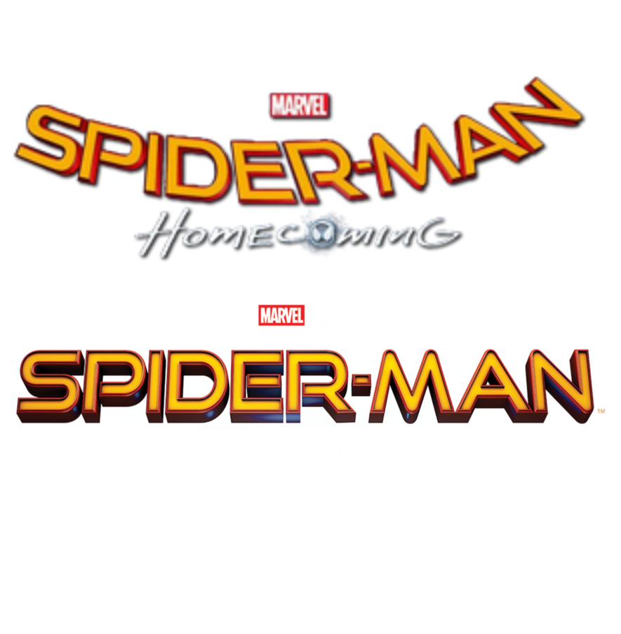 Spider-man homecoming logo png. Spider man all titles
