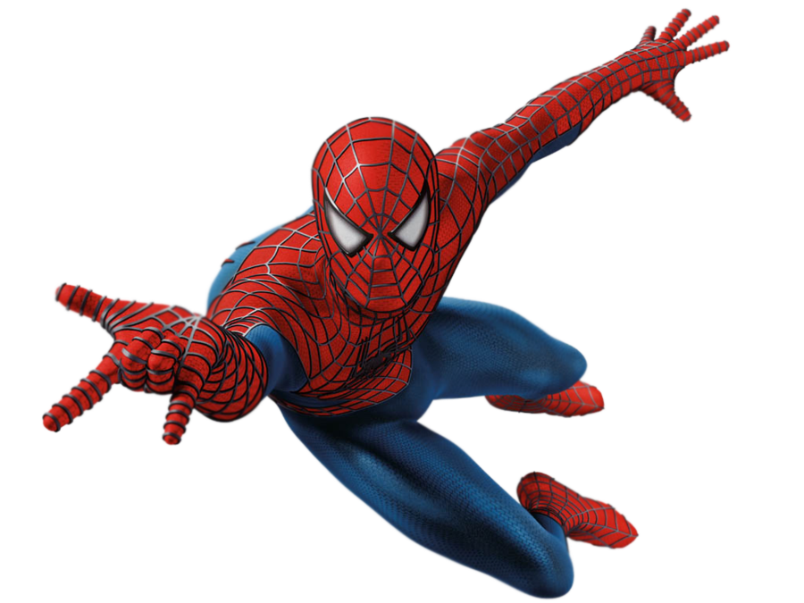 Spiderman png file. Image by captainjackharkness d