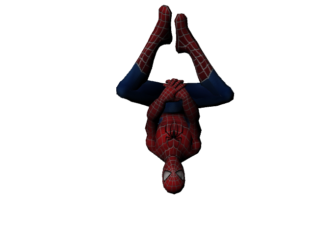 Spiderman upside down png. Week d production foundation