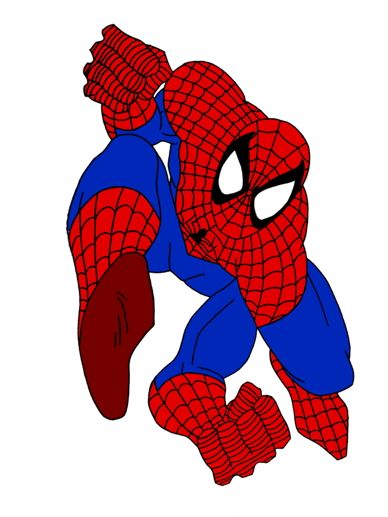 Spiderman upside down png. Pose by camdencc on