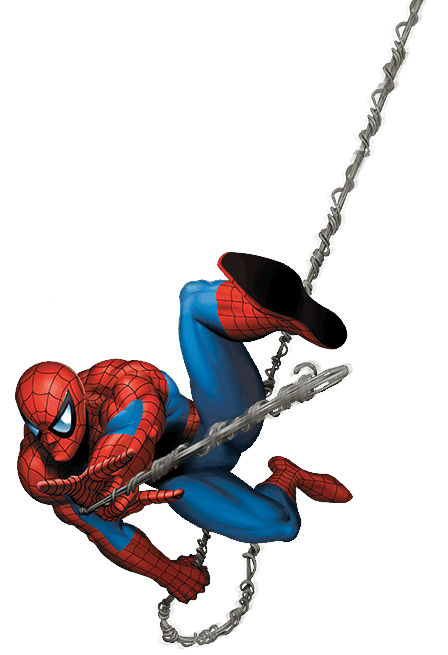 Spiderman web shooter png. Iron spider man characters