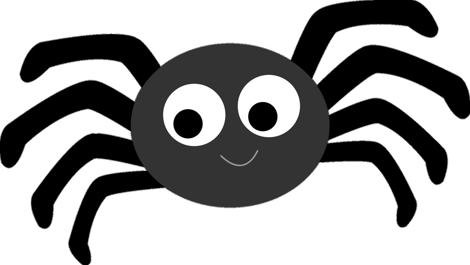 Spiders clipart spider insect. Colorful transitionsfv flat cartoon