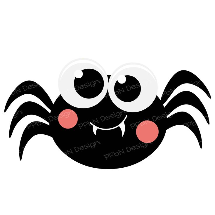 Spiders clipart svg. Best halloween images