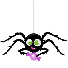 Spiders clipart svg. Spider scrapbook cut file