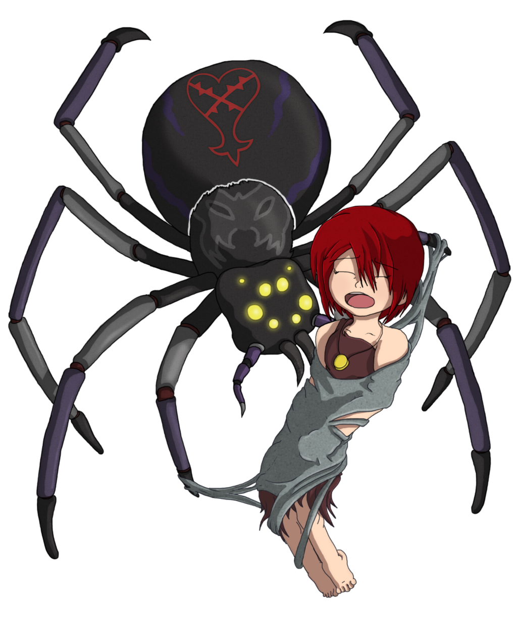 Spiders drawing bad. Heartless spider by phantomgline