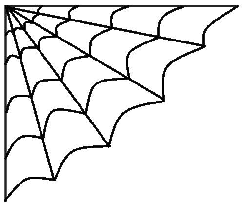 Spiderweb clipart. Halloween spider web black
