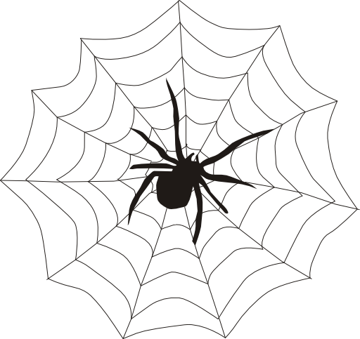 Spiderweb clipart. Spider web i royalty