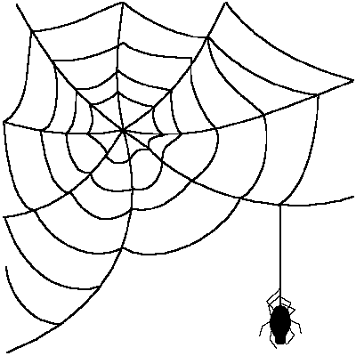 Spiderweb clipart. Spider web