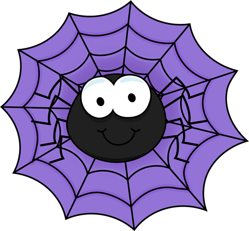 spiderweb clipart comic
