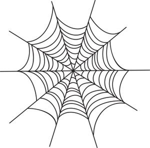 Spiderweb clipart. Spider web image creepy