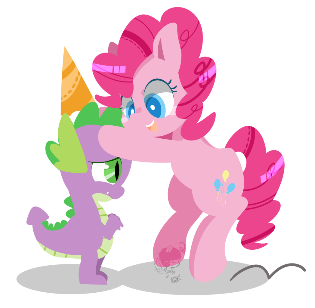 Spike and angel png. Artist snow hat