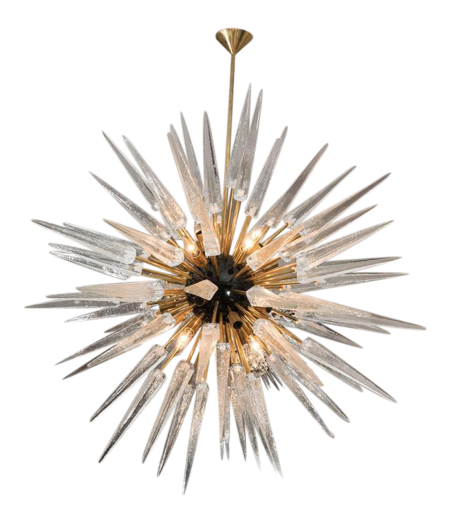 Spike and sunburst png. Fine stunning murano glass