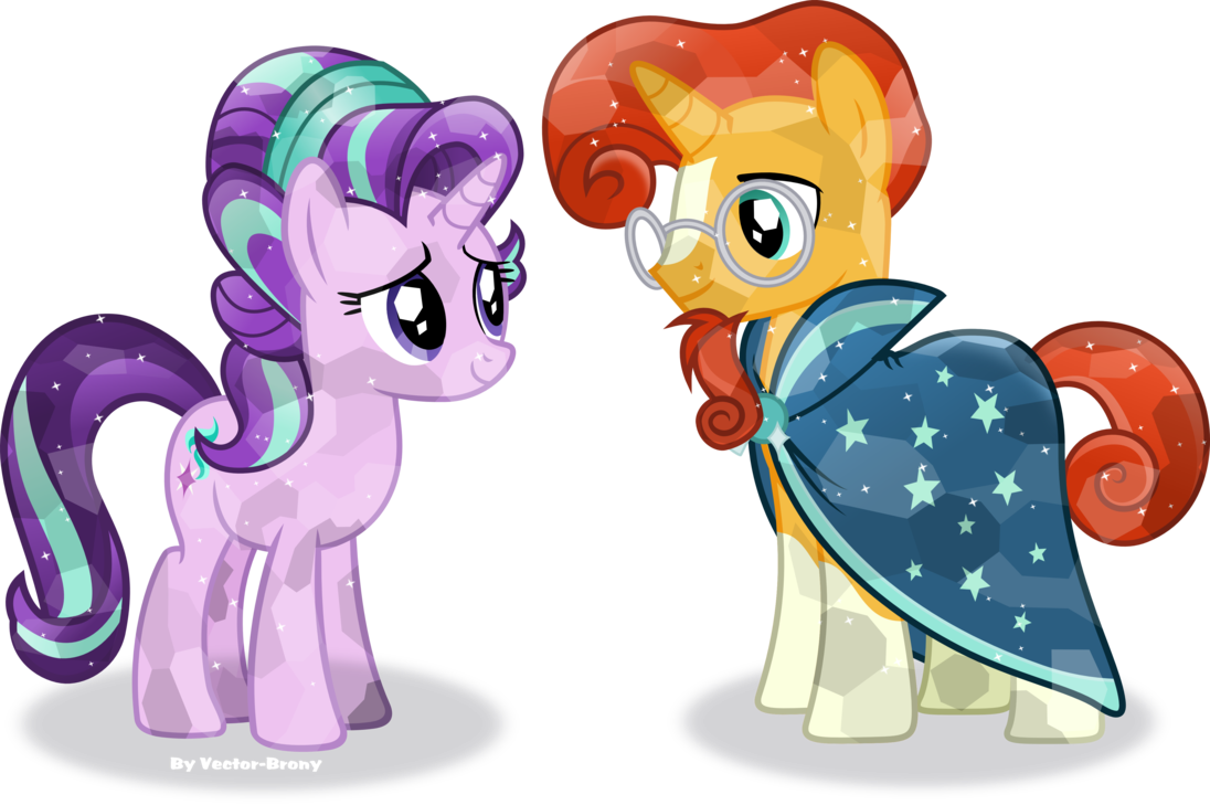 Spike and sunburst png. Crystal starlight by vector
