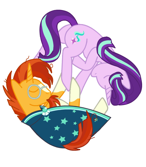 Spike and sunburst png. Starlight glimmer x fans