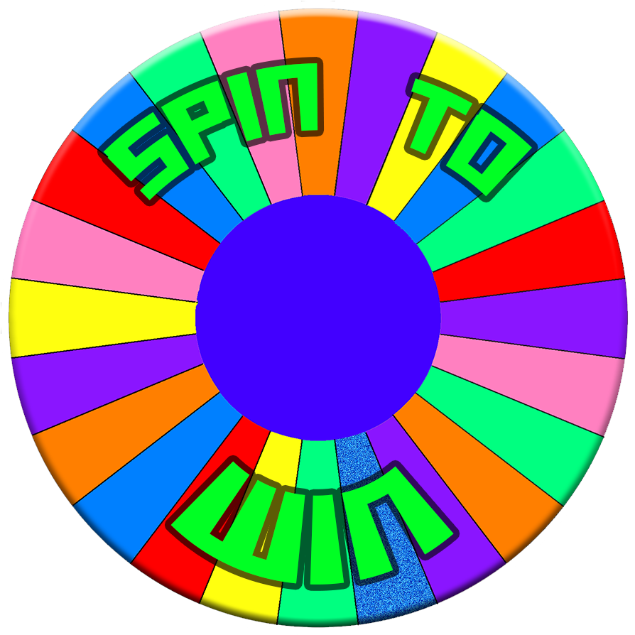 Spin clip. To win logo by