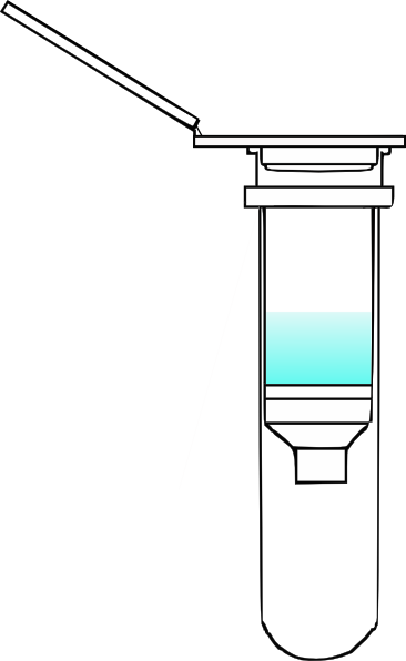 Spin clip. Column open with f